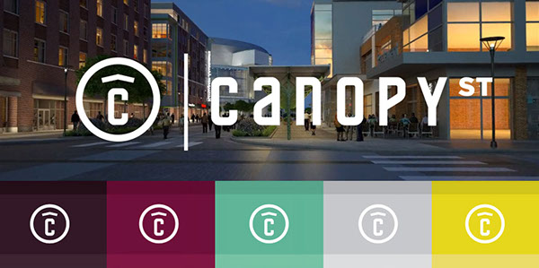& Canopy Street | Branding and Website on Behance