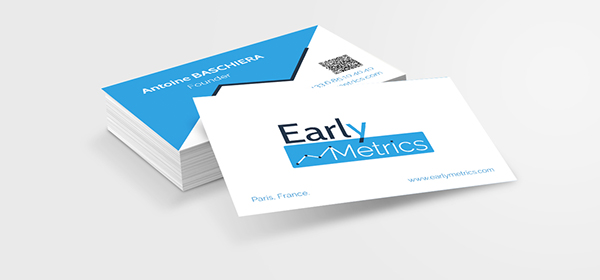 Carte De Visite Early Metrics