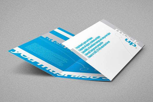 tri fold dl brochure mock up no hands version on behance