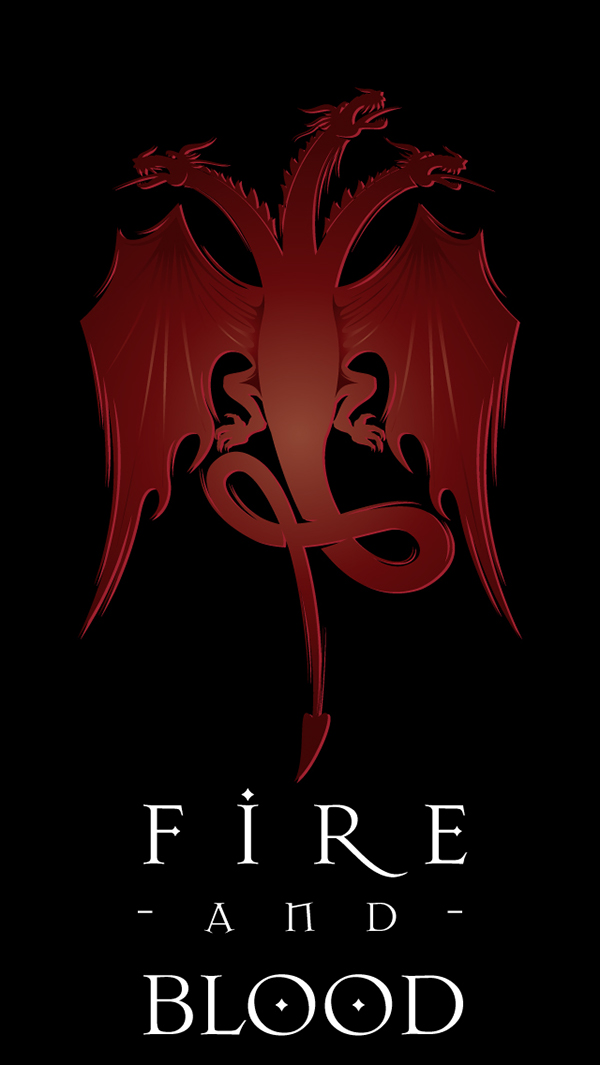 Asoiaf Game Of Thrones House Sigil Iphone Backgrounds On Behance