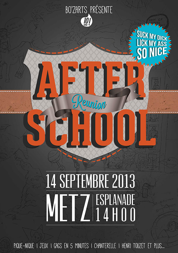 Reunion Poster Afterschool Reunion Poster on