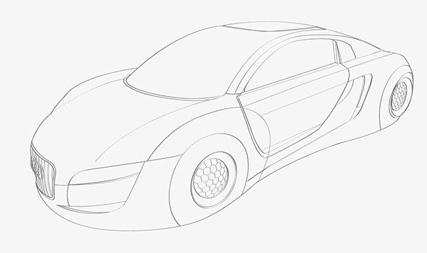Audi Rsq Concept Car On Behance