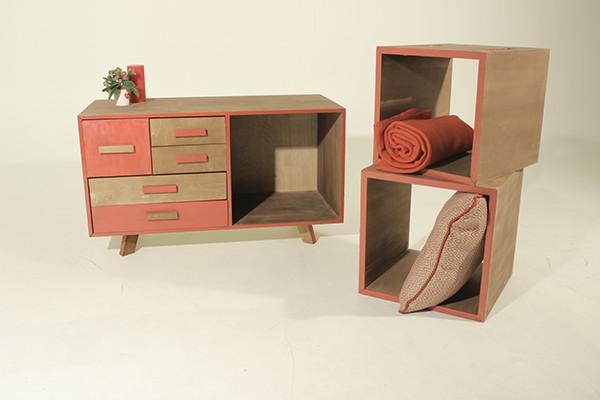 Multi Use Furniture Retro Style On Behance