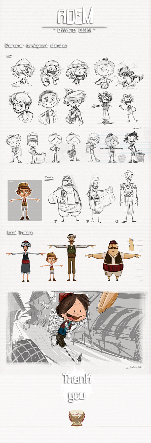 Character Design Behance : Adem character designs on behance