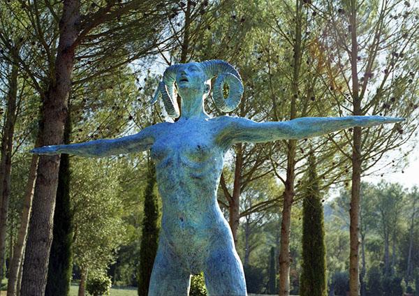 sculpture bronze wood marbre stone
