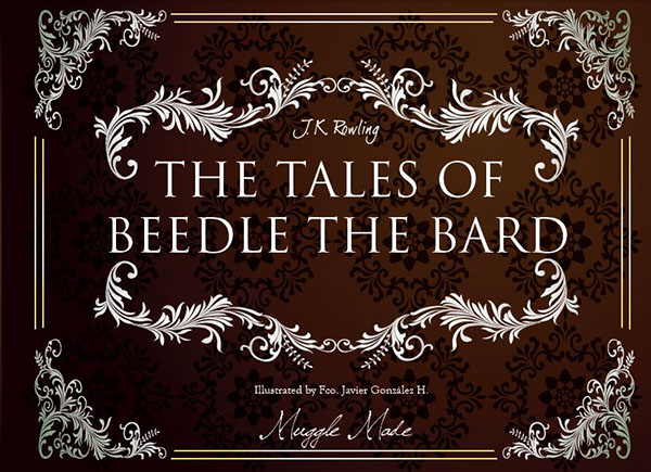 The Tales of Beedle the Bard on Behance