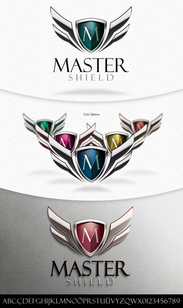Master Shield Logo Template on Behance