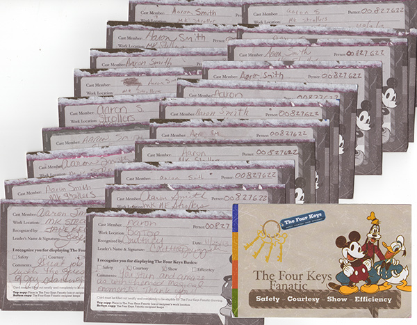 Disney Fanatic Card Keys Basics Fanatic Cards