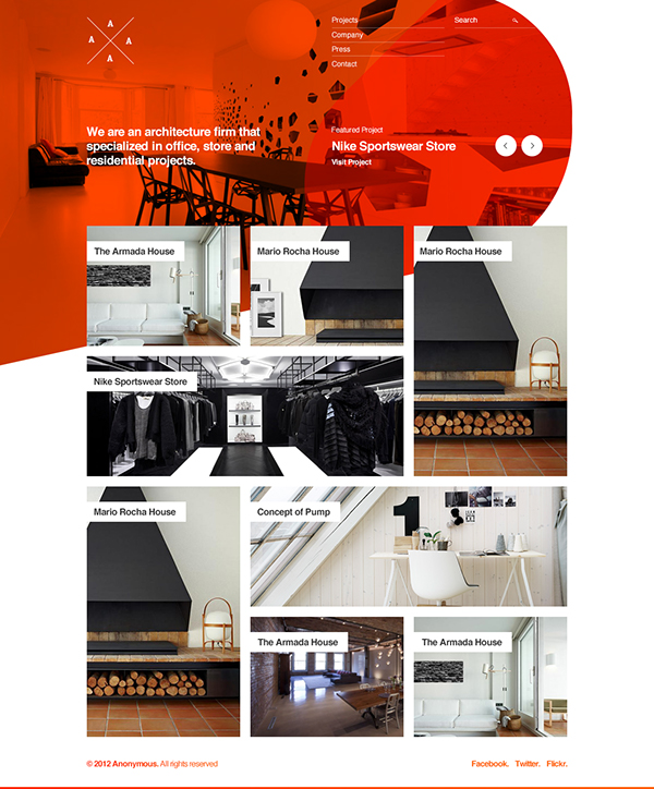 Untitled architectural portfolio project on behance for Architecture portfolio