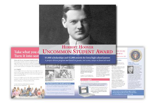 Presidential west branch iowa muscatine Hoover brochure