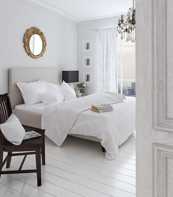 Interior corona White bedroom Classic modern