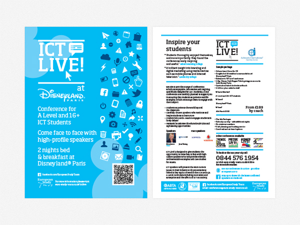 conference flyers on behance