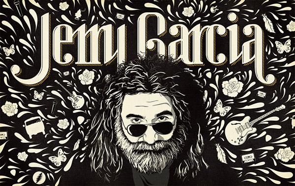 Jerry Garcia Wallpaper On Behance