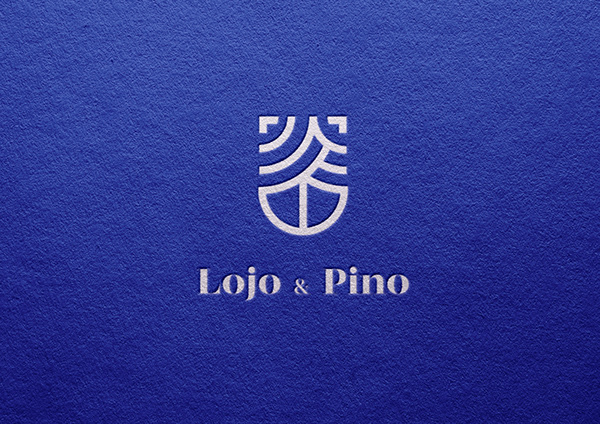 Lojo & Pino   Logo Process