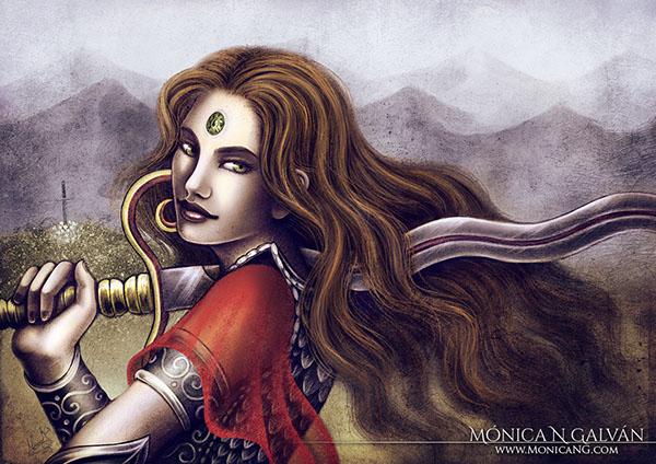 fantasy Enchanted Visions original characters Chiaroscuro