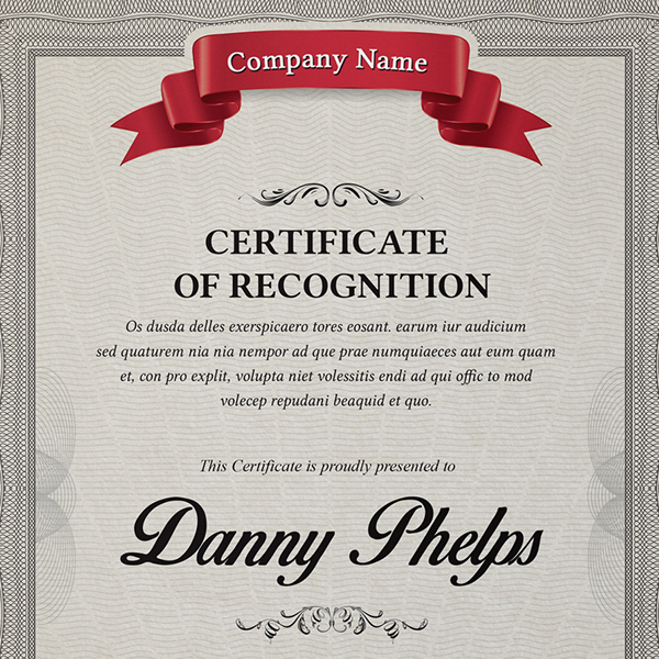Multipurpose Certificates A4 And Us Letter Size On Behance