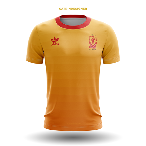 size 40 50592 23fc7 Liverpool FC 125 Year Kit Concept on Student Show