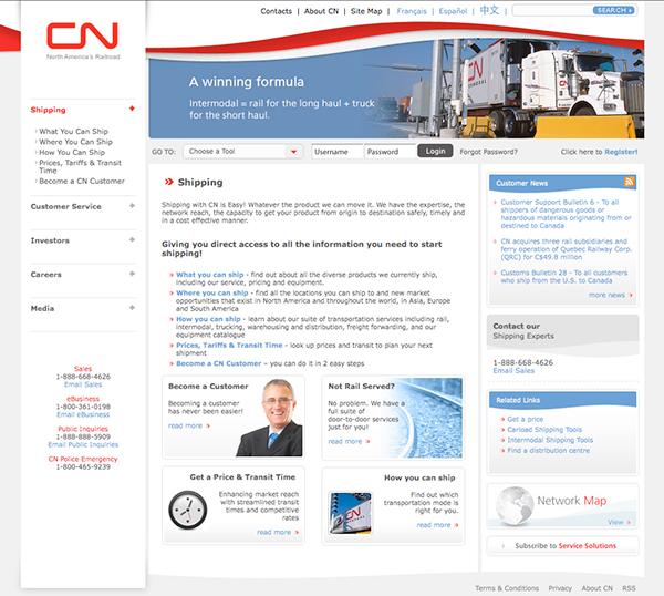 CN Rail zu communications