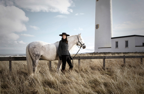 Alessandro Volpi Gabriela Hernandez BF Andre Badi scotland cliffs winter autumn horses Spanish tendence