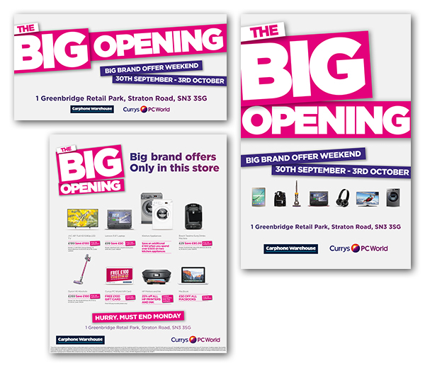 a48eb2e3c2d Currys/PC World store opening campaign