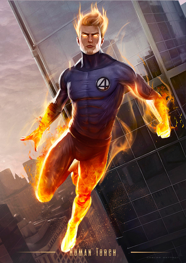 INVISIBLE WOMAN, MR. FANTASTIC, THE THING, & HUMAN TORCH