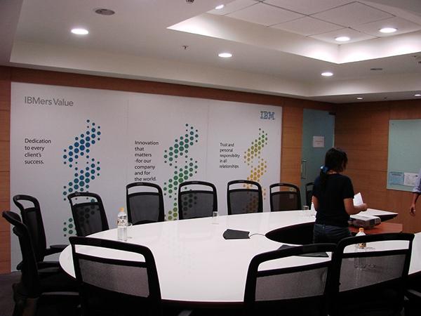 ibm office interior design and branding on behance rh behance net