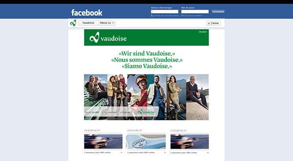 Vaudoise timeline facebook