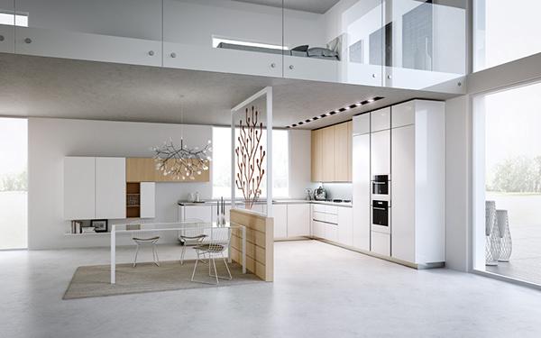 Kitchen Space U6 Studio 3ds Max Vray Photoshop