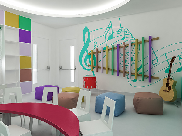 Kids Music Room On Behance