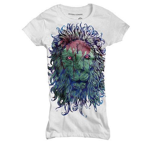 chrisrushing Dara tshirt apparel shirt designbyhumans chris rushing chris rushing lion blood royal blood