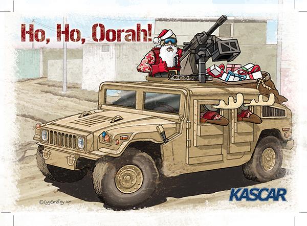 Ho, Ho, Oorah! by Guy Smalley