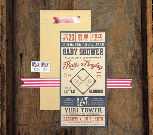 vintage baseball invitations on behance