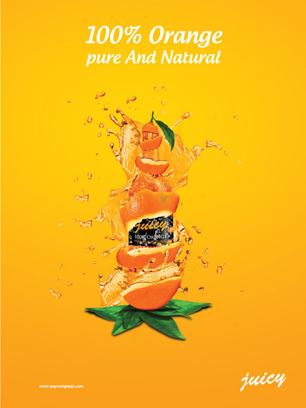 Orange Juice On Behance