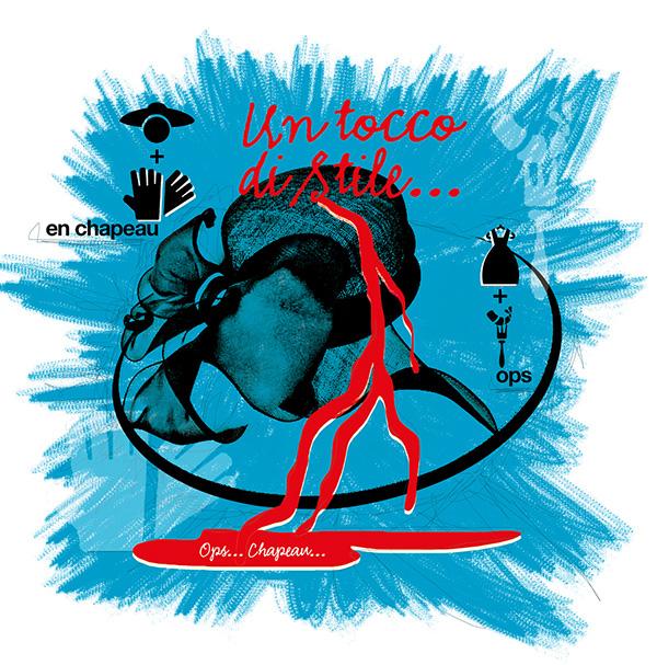 illustrazione Francesco Mazzenga Lusso Style Magazine Loredana Dell'Anno Tocco di stile