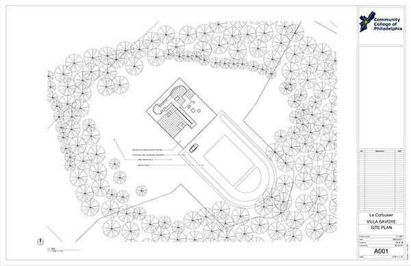 Site Plan Revit : Villa savoye site plan pixshark images