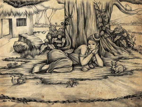 Ramayana characters on behance