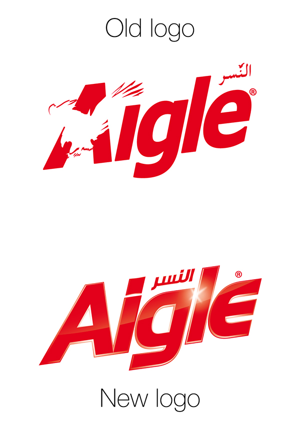 Célèbre Lifting du logo Aigle détergent on Behance IE44
