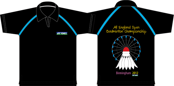 a09999bb All England Open Badminton Championship. Logo, T-shirts, Bag