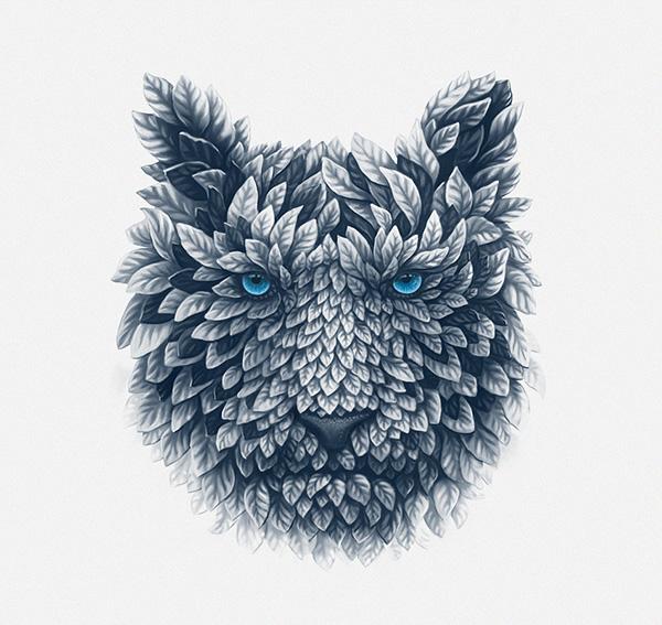 Deciduous beast by Sergey Kovalenko