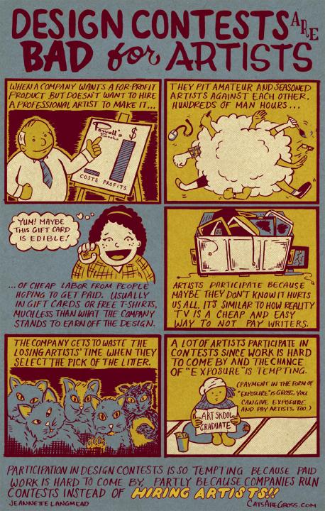 comic Webcomic spec work design contests