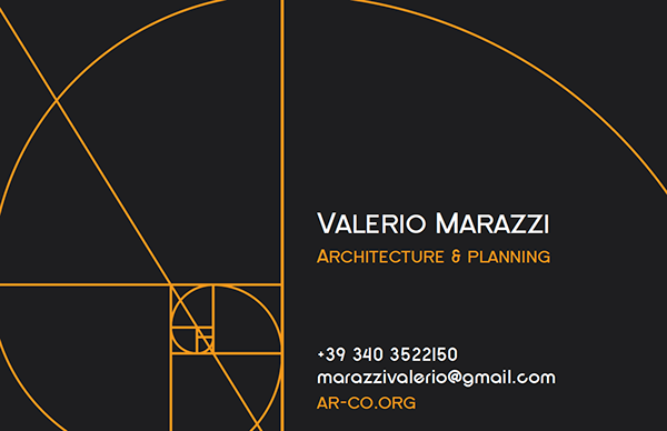 architect business card on behance - Architect Business Card