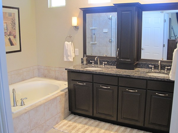 Bathroom remodel low budget before after pictures on for How long does a bathroom remodel take