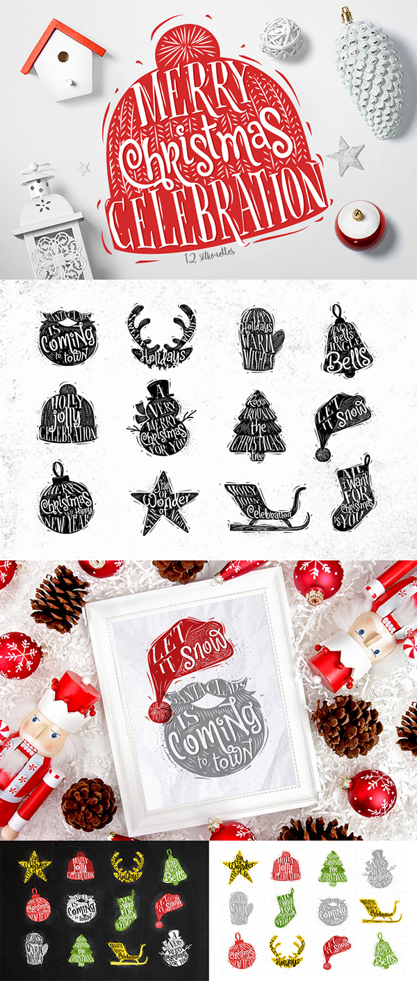 精美的15套聖誕節圖畫欣賞