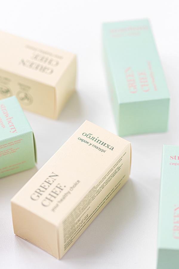 Vegan sweet cheese packaging design