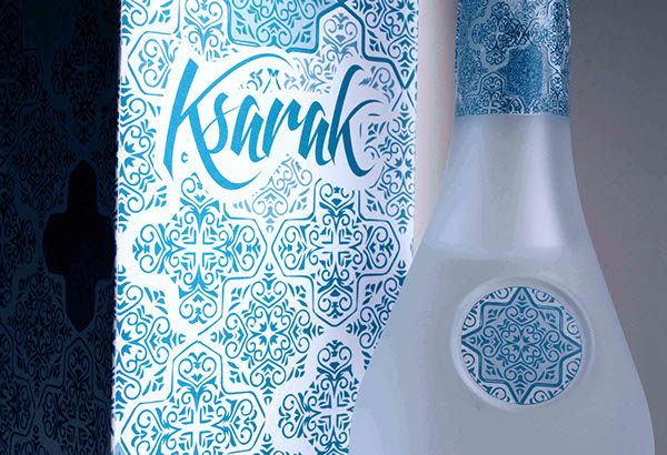 Lace Design on Ksarak Arak By Serena Bobbo