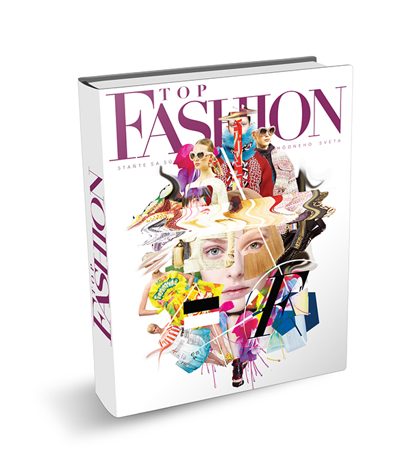 Collage Style Book Cover ~ Top fashion book cover collage on behance