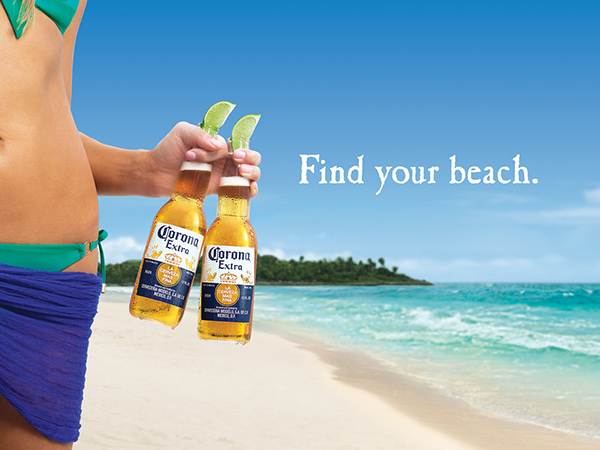 Corona Find Your Beach - Flow on Behance