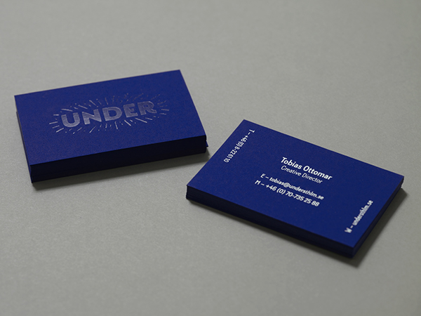 Under – Brand Identity
