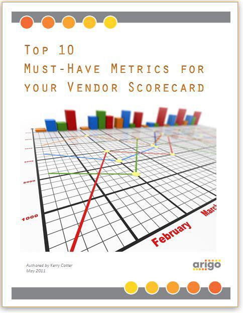 Retail Technology Whitepaper - Vendor Scorecard Metrics on Behance