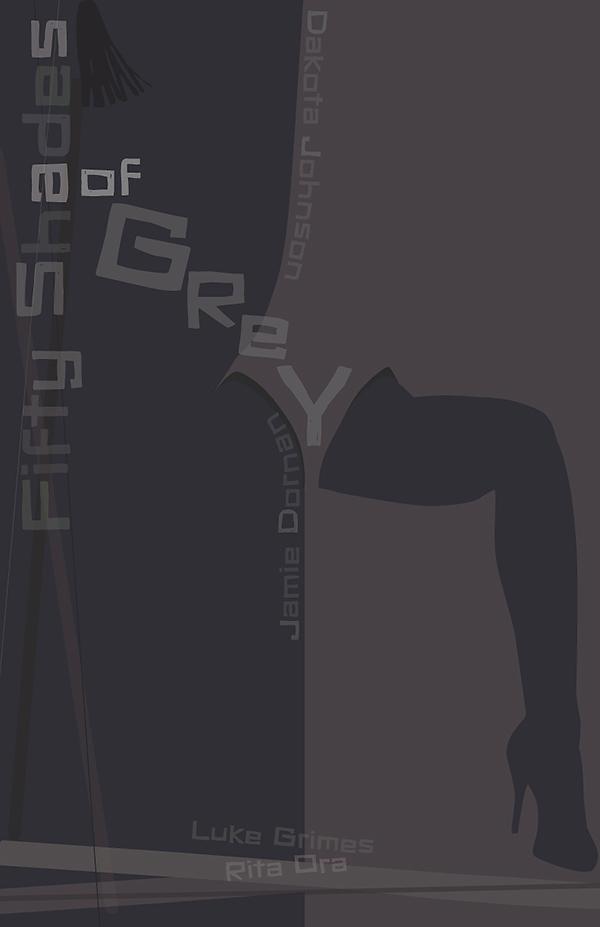 #fiftyshadesofgrey saulbass Hitchcock Illustrator projectfiftytwo p52